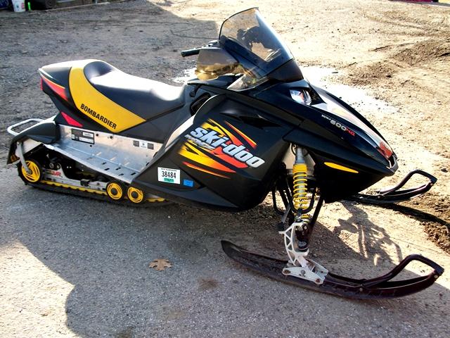 Ski Doo Mxz Rev 600ho 2003 Garage System Dootalk Forums